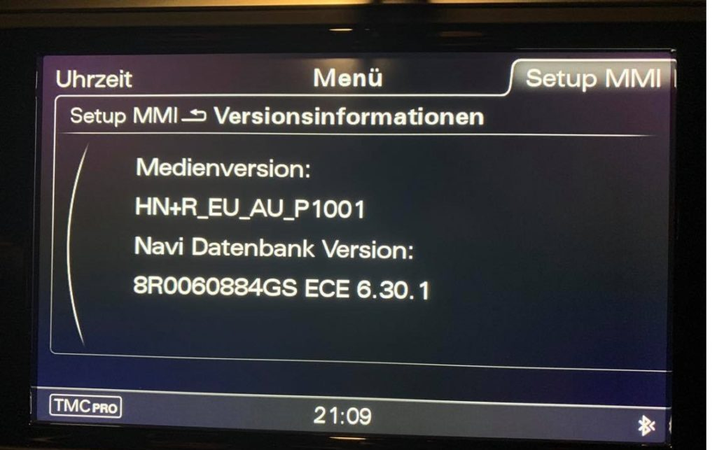 Audi Mmi Navigation Mmi 3g 3gp Mib2 Update 2020 Reparatur